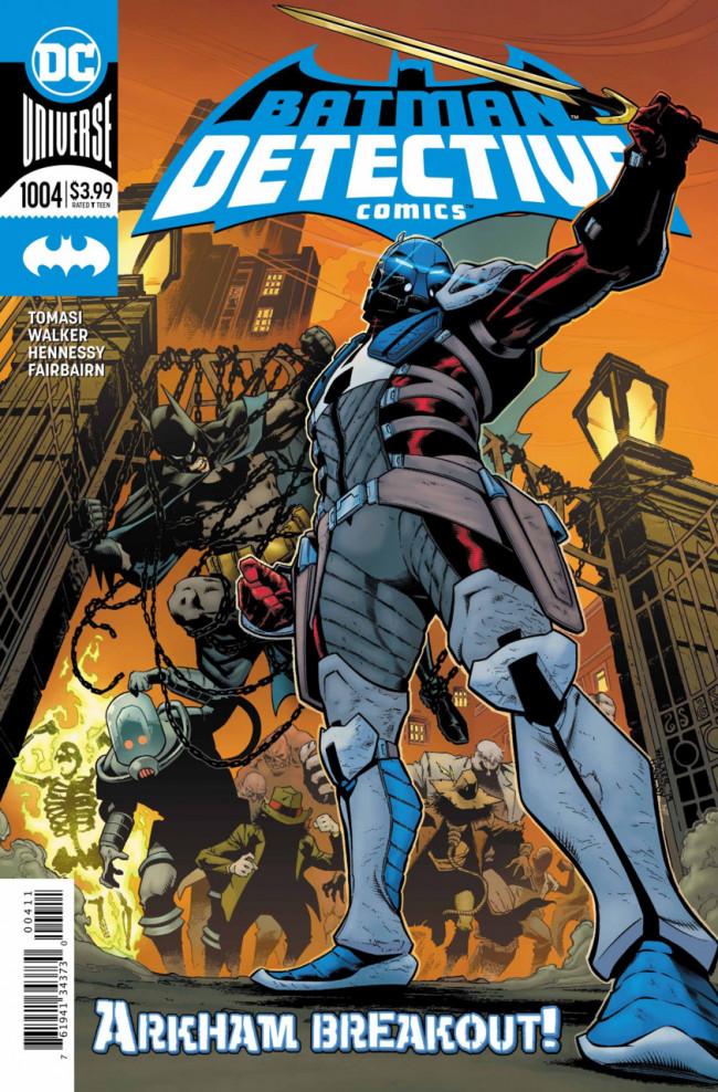 Couverture de Detective Comics (1937), période Rebirth (2016) -1004- Medieval - Secrets & Lies