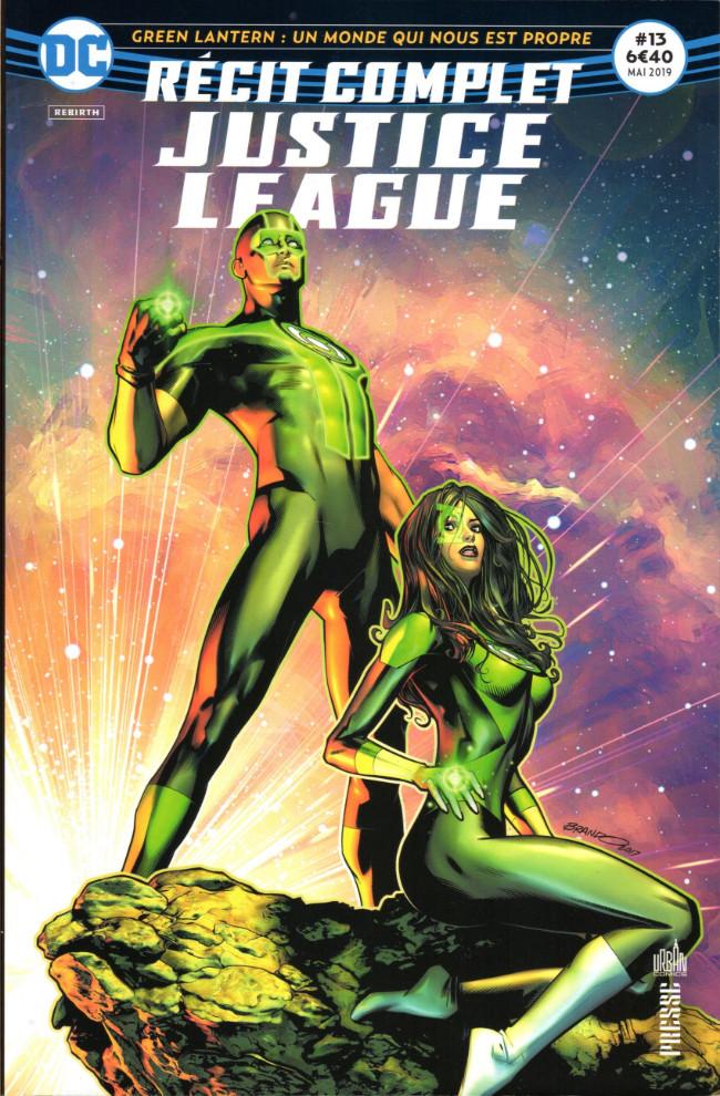 Couverture de Justice League - Récit Complet (DC Presse) -13- Green Lantern : Un monde qui nous est propre