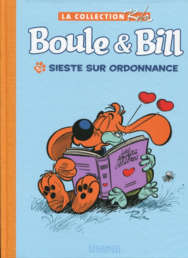 Couverture de Boule et Bill -15- (Collection Eaglemoss) -4717- Sieste sur ordonnance