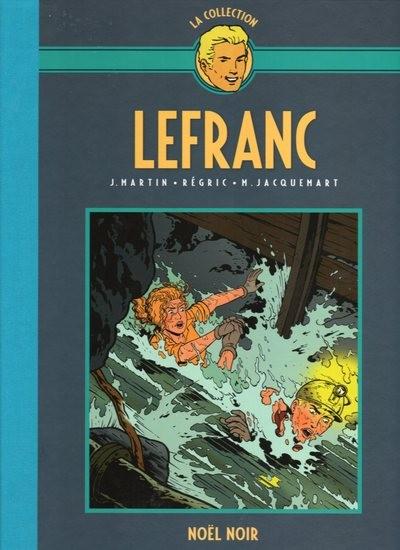 Couverture de Lefranc - La Collection (Hachette) -20- Noël noir
