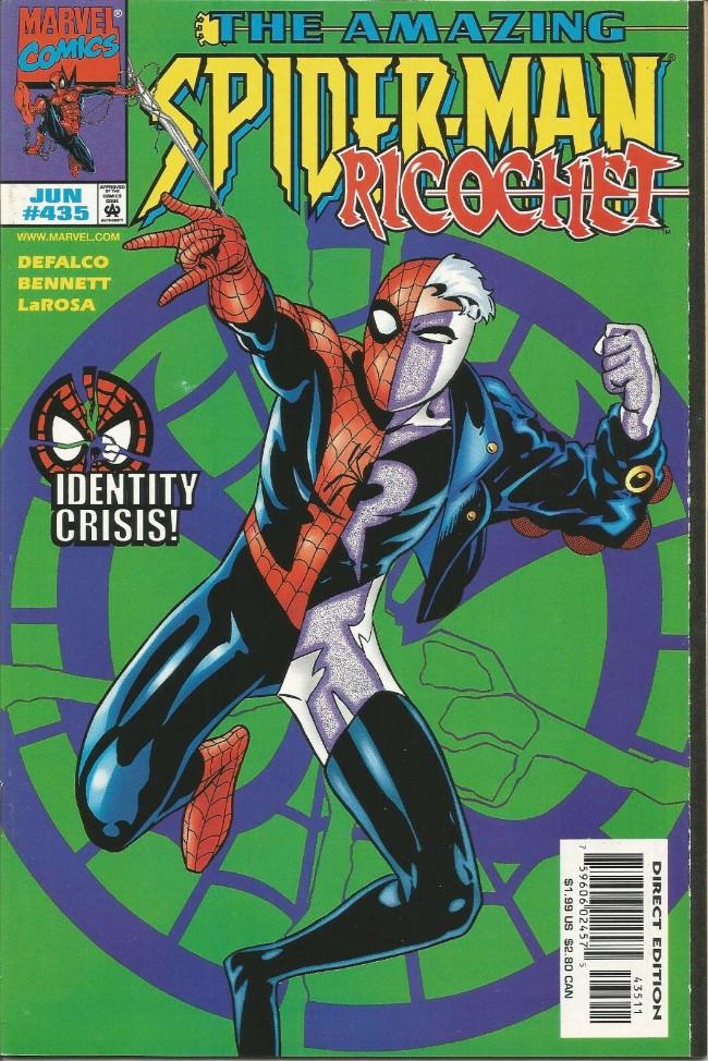 Couverture de The amazing Spider-Man Vol.1 (Marvel comics - 1963) -435- Identity Crisis!