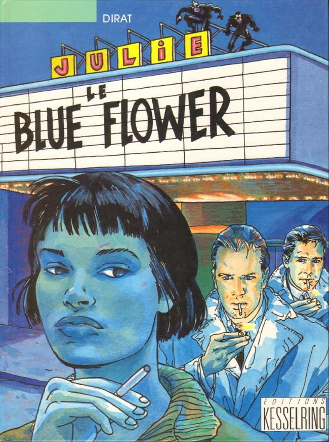 Couverture de Le blue Flower