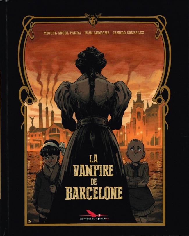 Couverture de La vampire de Barcelone - La Vampire de Barcelone