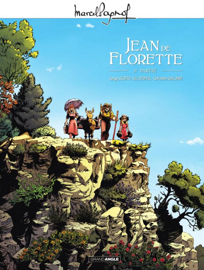 Couverture de Jean de Florette -2- Deuxième partie