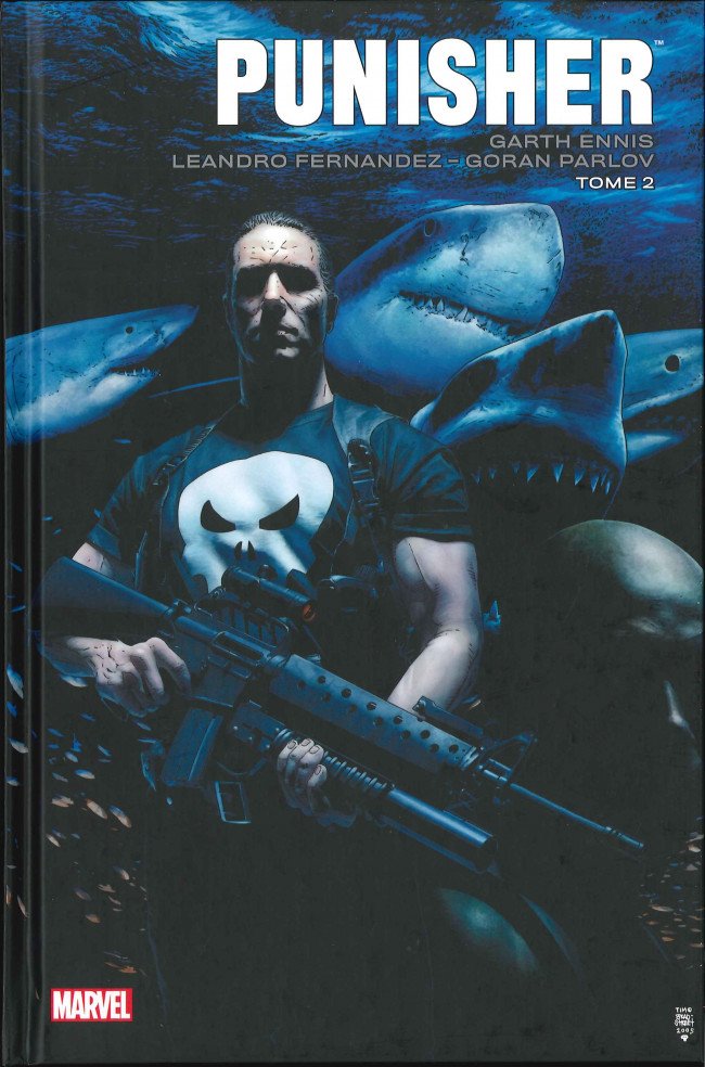 Couverture de Punisher Max (Marvel Icons) -2- Tome 2