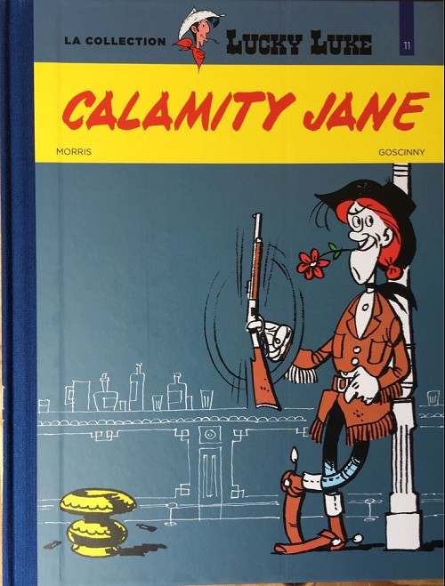 Couverture de Lucky Luke - La collection (Hachette 2018) -3011- Calamity jane