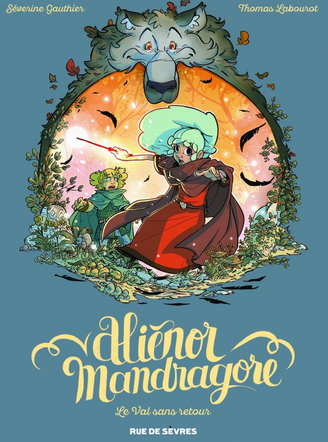 Couverture de Aliénor Mandragore -5- Le Val sans retour