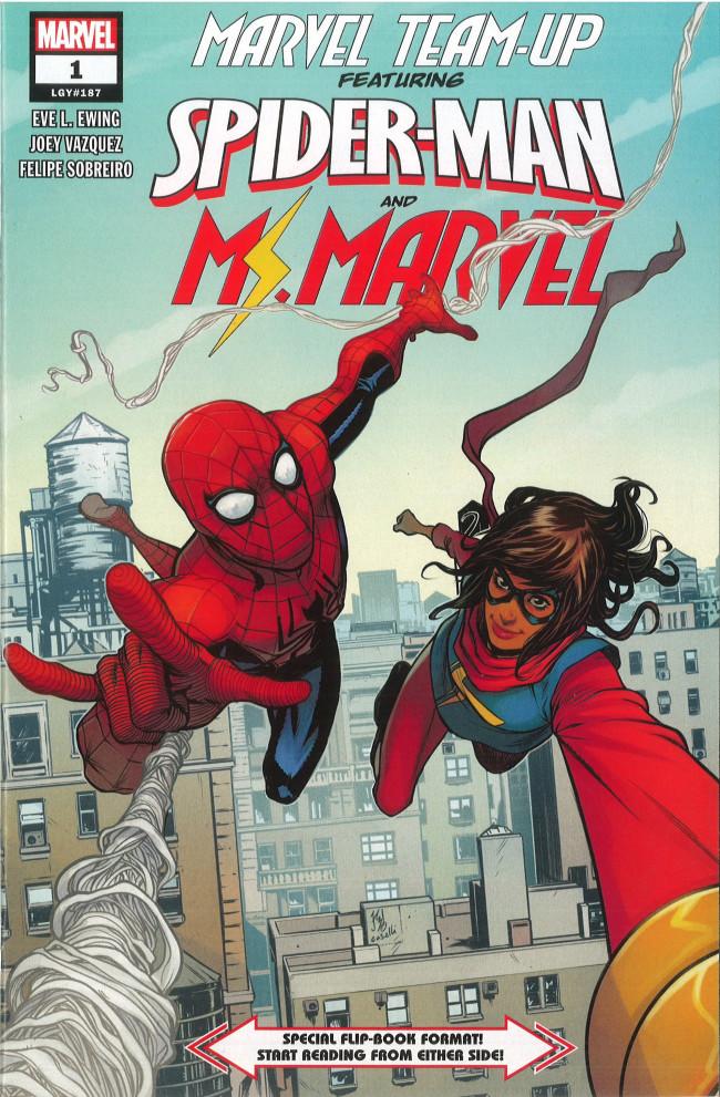 Couverture de Marvel Team-Up Vol.4 (Marvel comics - 2019) -1- Spider-Man and Ms. Marvel