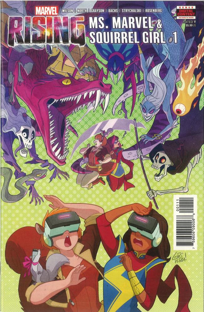 Couverture de Marvel Rising: Ms. Marvel/Squirrel Girl