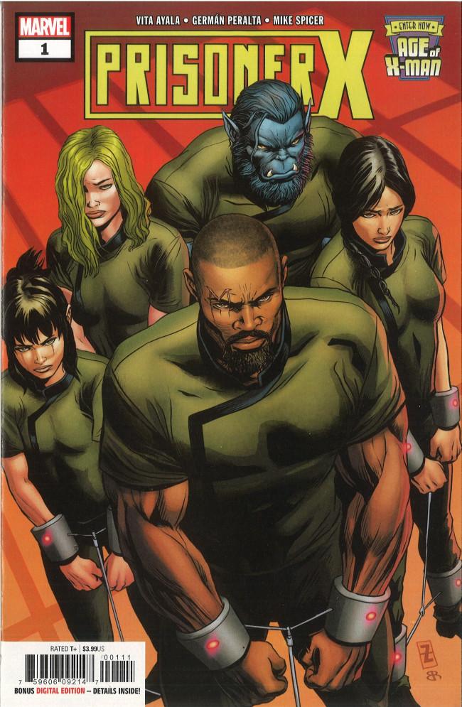 Couverture de Age of X-Man: Prisoner X -1- Part 1