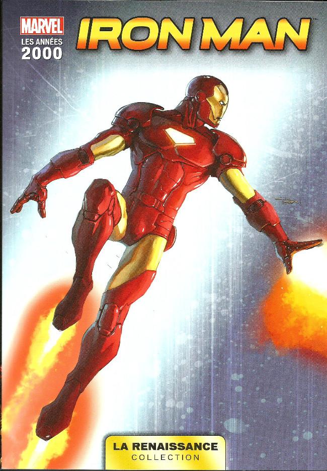 Couverture de Marvel Les Années 2000 - La Renaissance -6- Iron Man