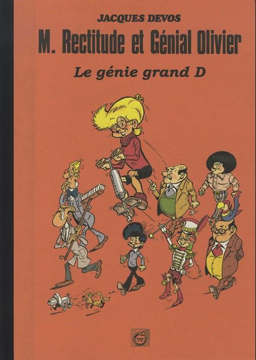Couverture de Génial Olivier -18- Le génie grand D