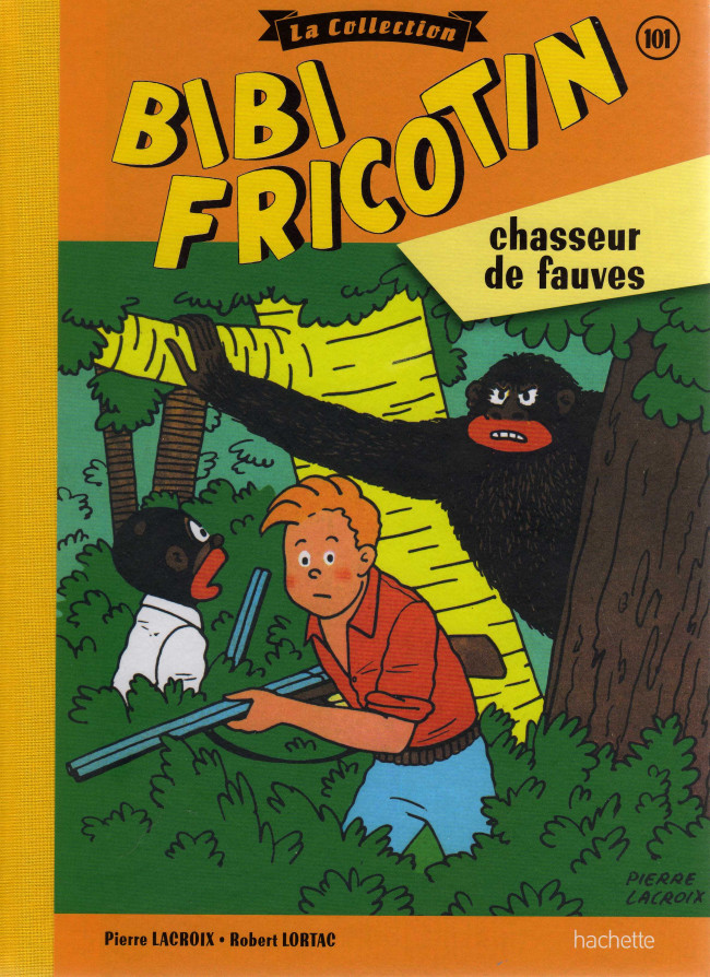 Couverture de Bibi Fricotin (Hachette - la collection) -101- Bibi Fricotin chasseur de fauves