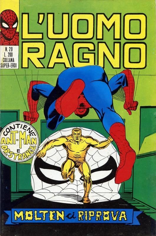 Couverture de L'uomo Ragno V1 (Editoriale Corno - 1970)  -29- Molten ci riprova