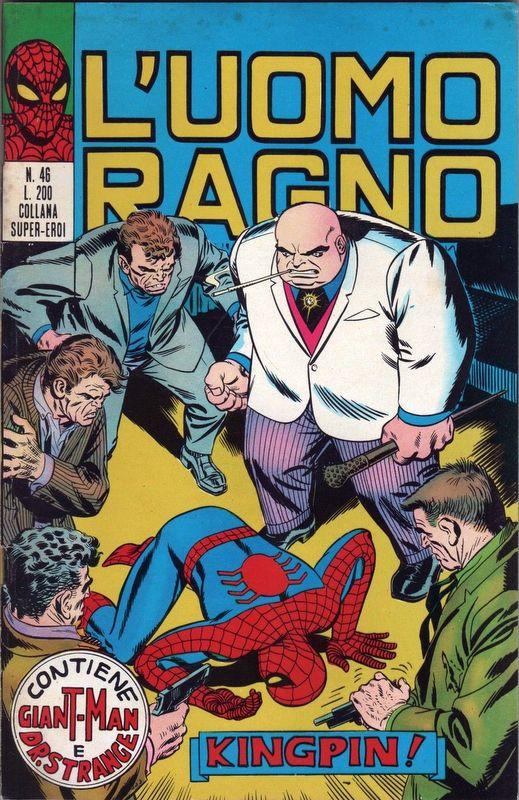 Couverture de L'uomo Ragno (Editoriale Corno) V1 -46- Kingpin