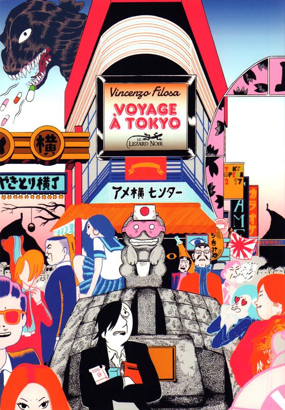Couverture de Voyage à Tokyo
