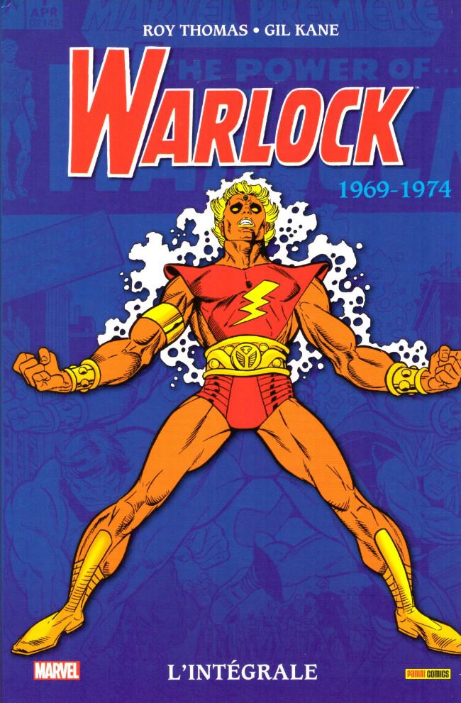 Couverture de Warlock (L'intégrale) -1- L'intégrale 1969-1974