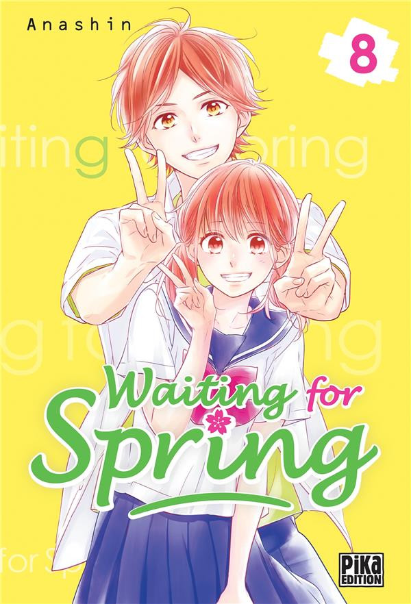 Couverture de Waiting for spring -8- Tome 8