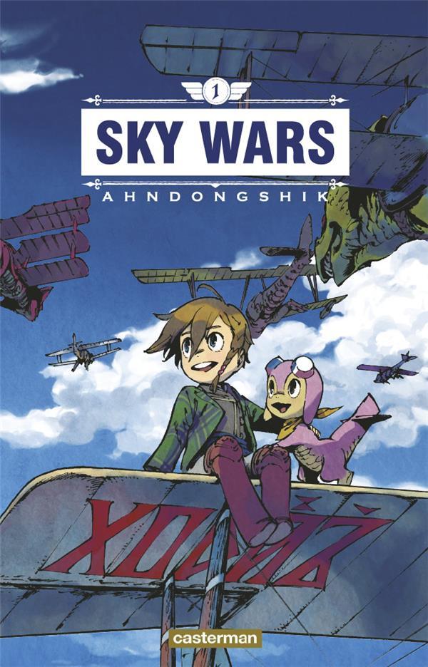 Couverture de Sky Wars -1- Tome 1