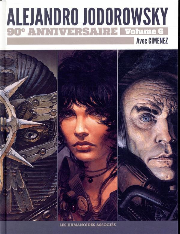 Couverture de Alejandro Jodorowsky 90e anniversaire -6- Volume 6