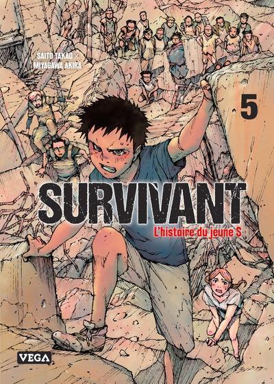 Couverture de Survivant - L'histoire du jeune S -5- Tome 5