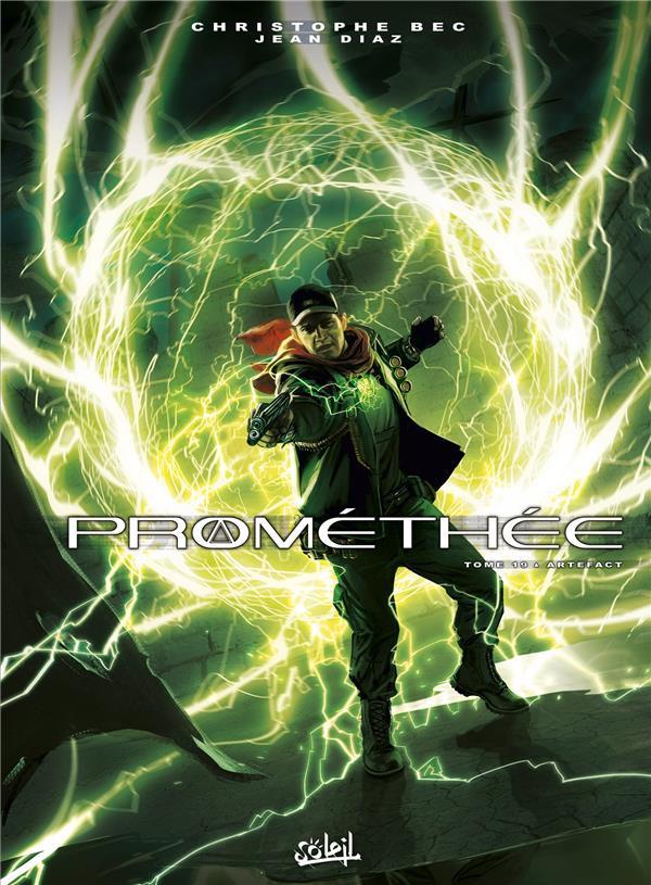 Couverture de Prométhée -19- Artefact