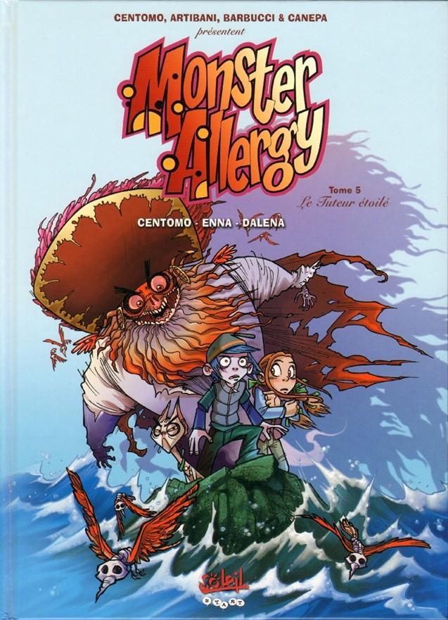 Couverture de Monster Allergy -5- Le tuteur étoilé