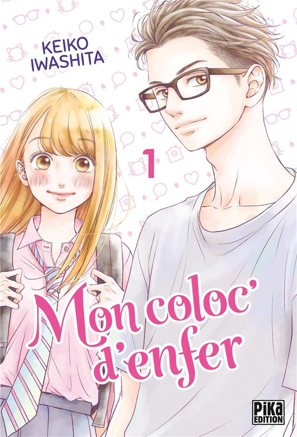 Couverture de Mon coloc' d'enfer -1- Tome 1