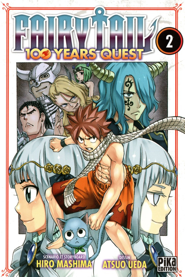 Couverture de Fairy Tail - 100 Years Quest -2- Tome 2