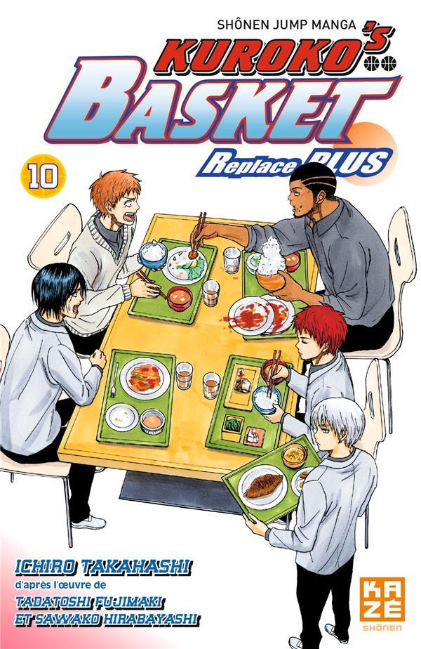 Couverture de Kuroko's Basket - Replace Plus -10- Tome 10
