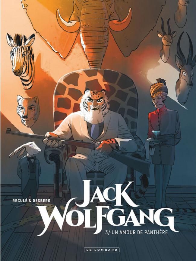 Couverture de Jack Wolfgang -3- Un amour de panthère