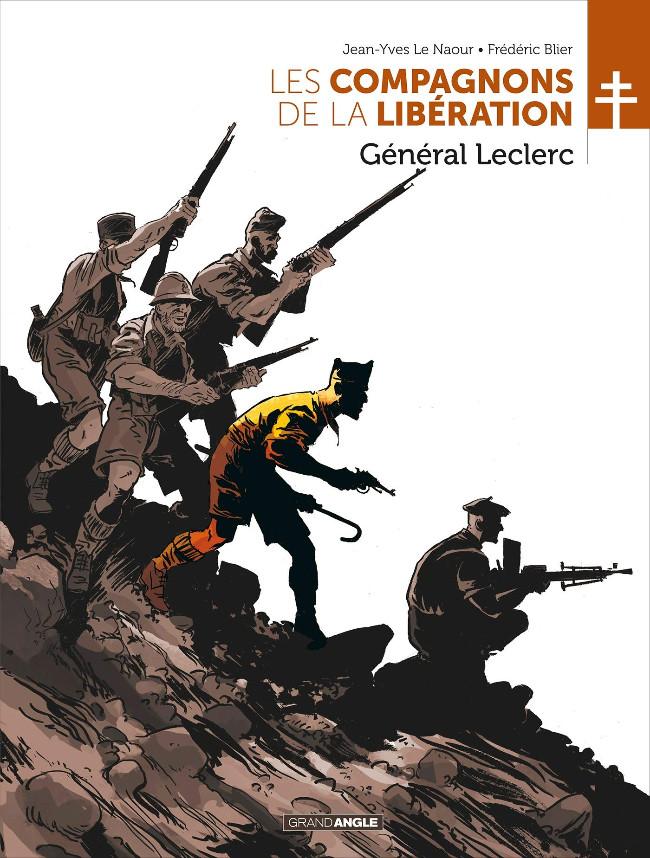 Couverture de Les compagnons de la Libération -1- Général Leclerc