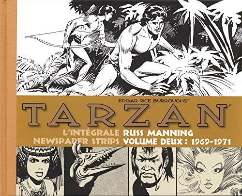 Couverture de Tarzan : L'Intégrale Russ Manning  -2- Newspaper Strips Volume deux : 1969-1971