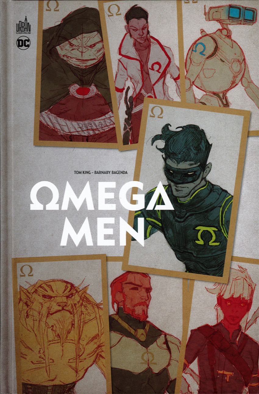 Couverture de Omega Men (Urban Comics) - Omega Men