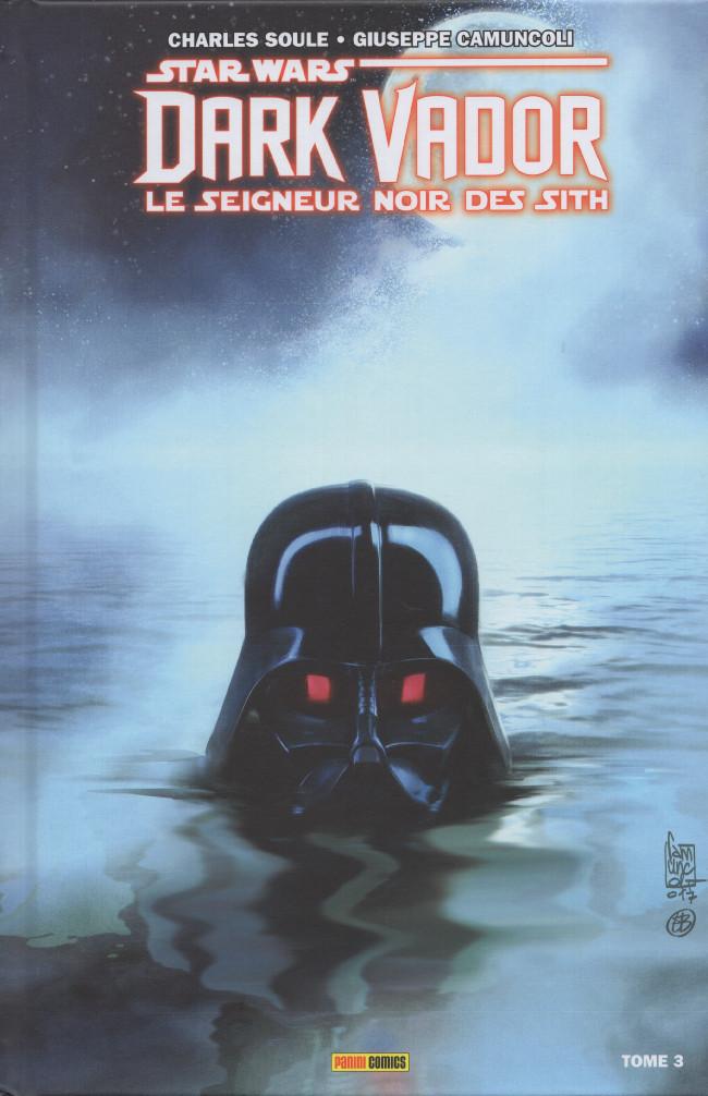 Couverture de Star Wars - Dark Vador : Le Seigneur noir des Sith -3- Mers de feu