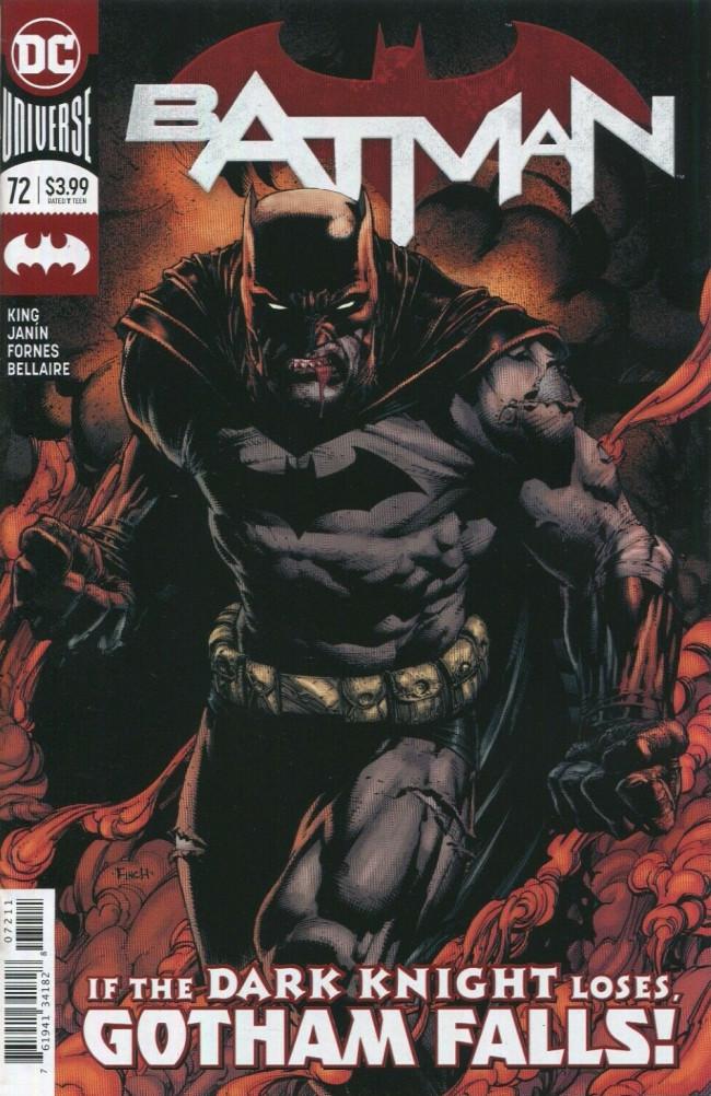 Couverture de Batman (DC Comics - 2016) -72- The Fall and the Fallen, Part Three