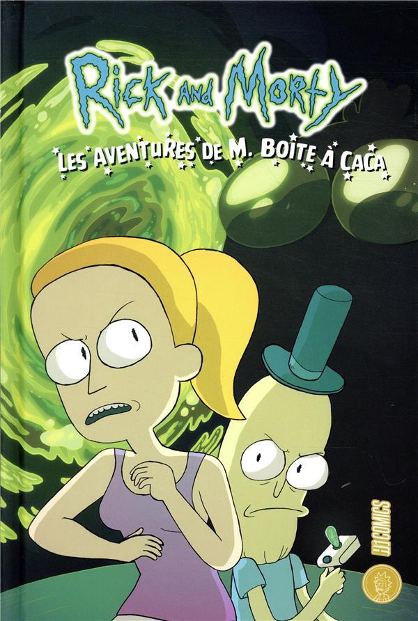 Couverture de Rick and Morty - Les aventures de M. Boîte à caca