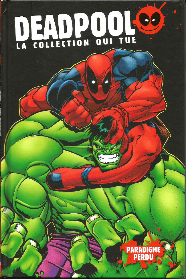 Couverture de Deadpool - la collection qui tue (hachette) -55- Paradigme perdu