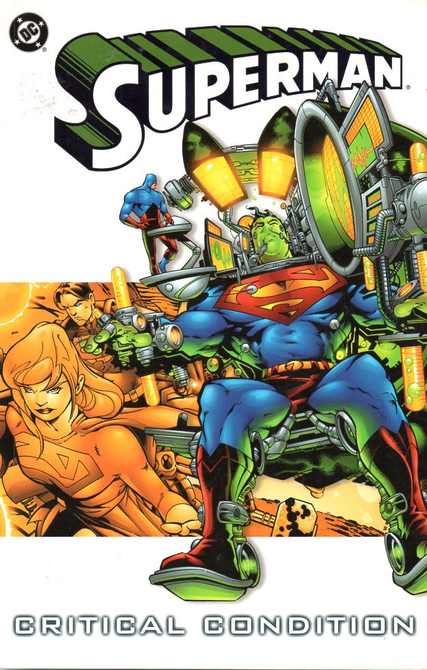 Couverture de Superman (TPB) -INT- Critical condition