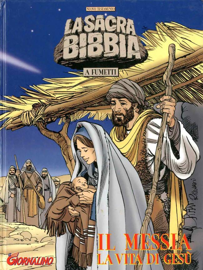 Couverture de La sacra bibbia -1- il Messia la vita di Gesù