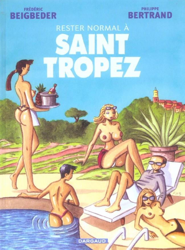 Couverture de Rester normal -2- Rester normal à Saint Tropez