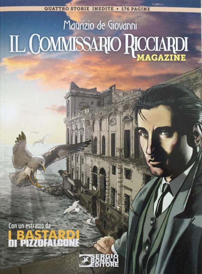 Couverture de Il Commissario Ricciardi (Magazine) - Quattro storie inedite