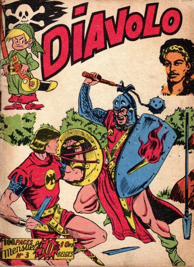 Couverture de Diavolo (2e Série - Aventures et voyages) -3- Numéro 3