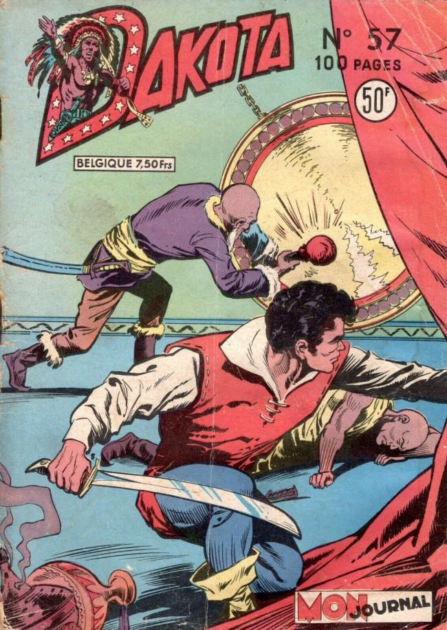 Couverture de Dakota (Aventures et Voyages) -57- Rocky le trappeur contre les anglais