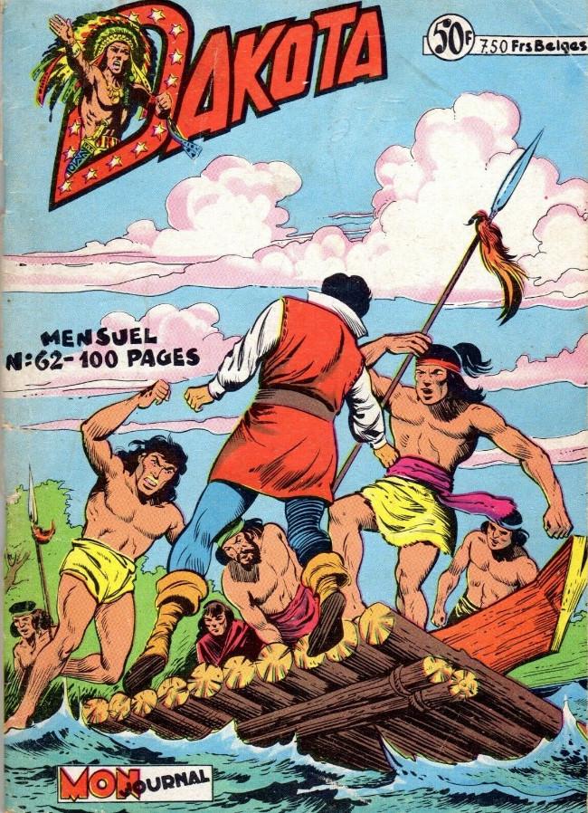 Couverture de Dakota (Aventures et Voyages) -62- Le courrier du Khan