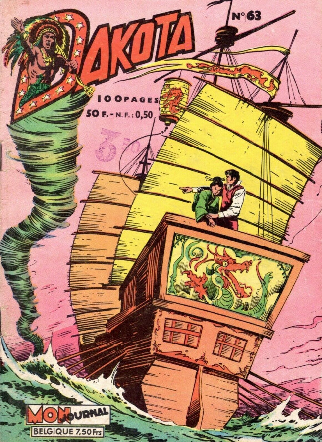 Couverture de Dakota (Aventures et Voyages) -63- Dorian reprend son poste de conseiller