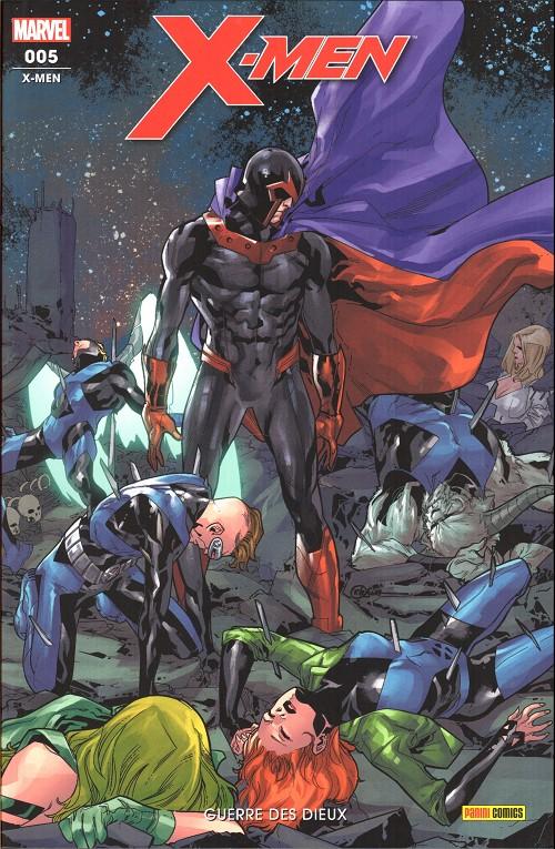 Couverture de X-Men (Marvel France 6e série) -5- Guerre des dieux