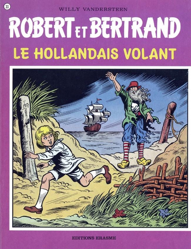Couverture de Robert et Bertrand -33- Le hollandais volant