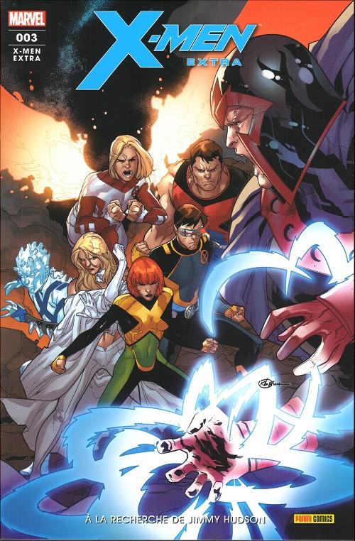 Couverture de X-Men Extra (2e série) -3- A la recherche de jimmy hudson