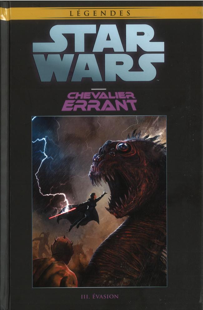 Couverture de Star Wars - Légendes - La Collection (Hachette) -9321- Chevalier Erant - III. Evasion